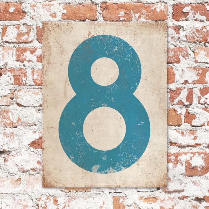 koenmeloen-huisnummer-bord-staand-type-1-blauw-wit