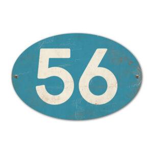 Koenmeloen-Huisnummer-bord-ovaal-baluw-wit