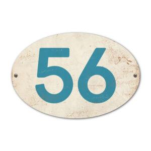 Koenmeloen-Huisnummer-bord-ovaal-wit-blauw